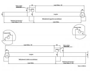 quels sont les caracteristiques du portail telescopique. Black Bedroom Furniture Sets. Home Design Ideas