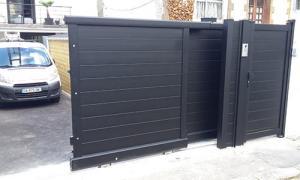 Portail coulissant et portillon sécurisé colombes 92270