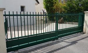 Porte escamotable deux vantaux coulissants région parisienne 95